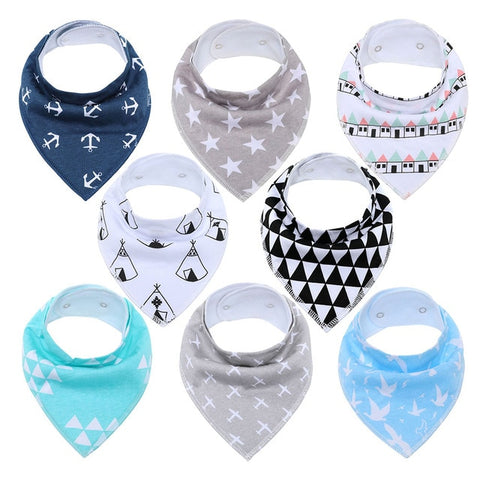 Lot Bavoir Bandana <br> Samuel - Bandana District
