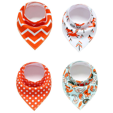 Bavoirs Bandana <br> Orange - Bandana District