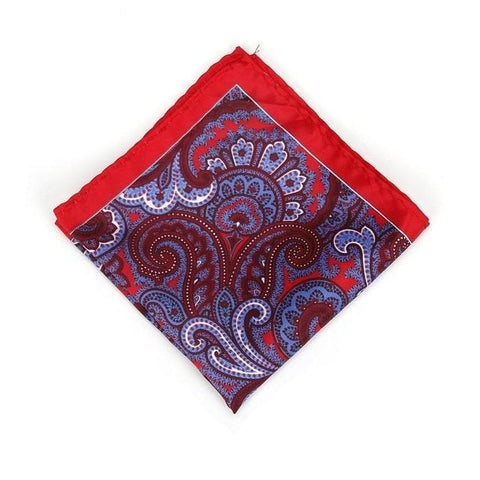 Bandana Paisley <br> Rubis - Bandana District