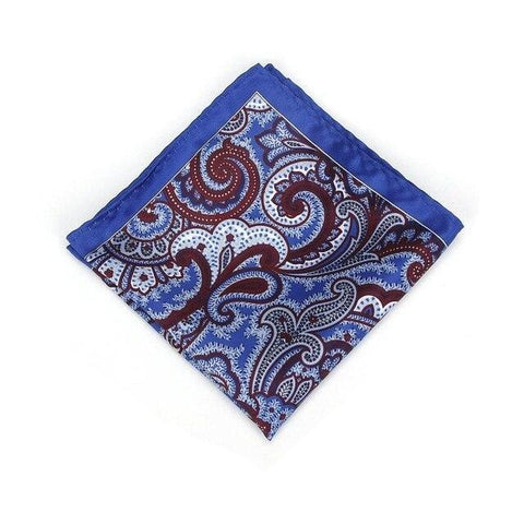 Bandana Paisley <br> Bleu - Bandana District