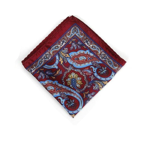 Bandana Paisley <br> Bordeaux Royal - Bandana District