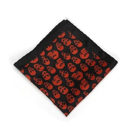 Bandana Tête de Mort <br> Noir Sang - Bandana District