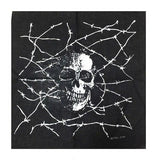 Bandana <br> Tête de Mort & Barbelés - Bandana District