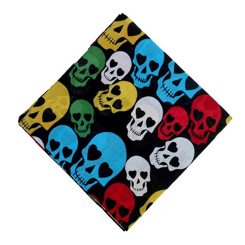 Bandana<br> Tete de mort Multicolor - Bandana District