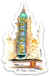 Louisville Palace Sticker