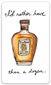 Four Roses Sticker