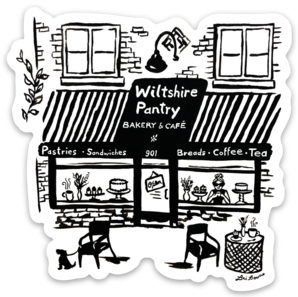 Wiltshire Pantry Sticker