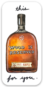 Woodford Reserve Sticker