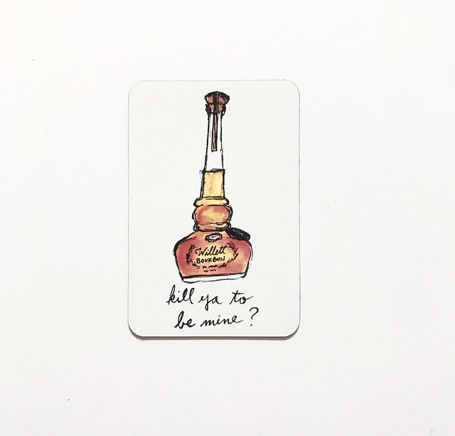 Willett Bourbon Magnet