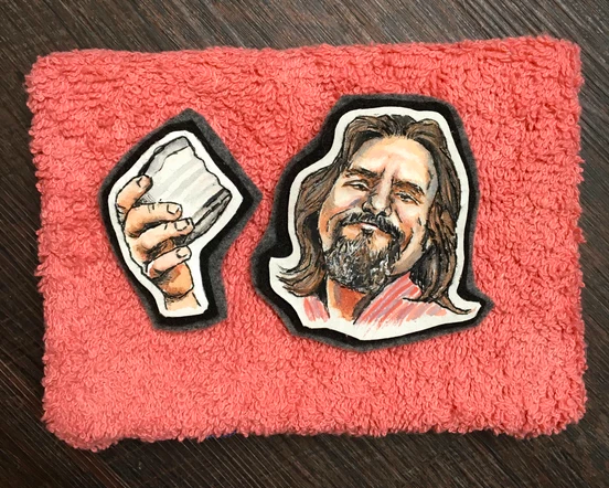 The Dude Embroidery Pin Set