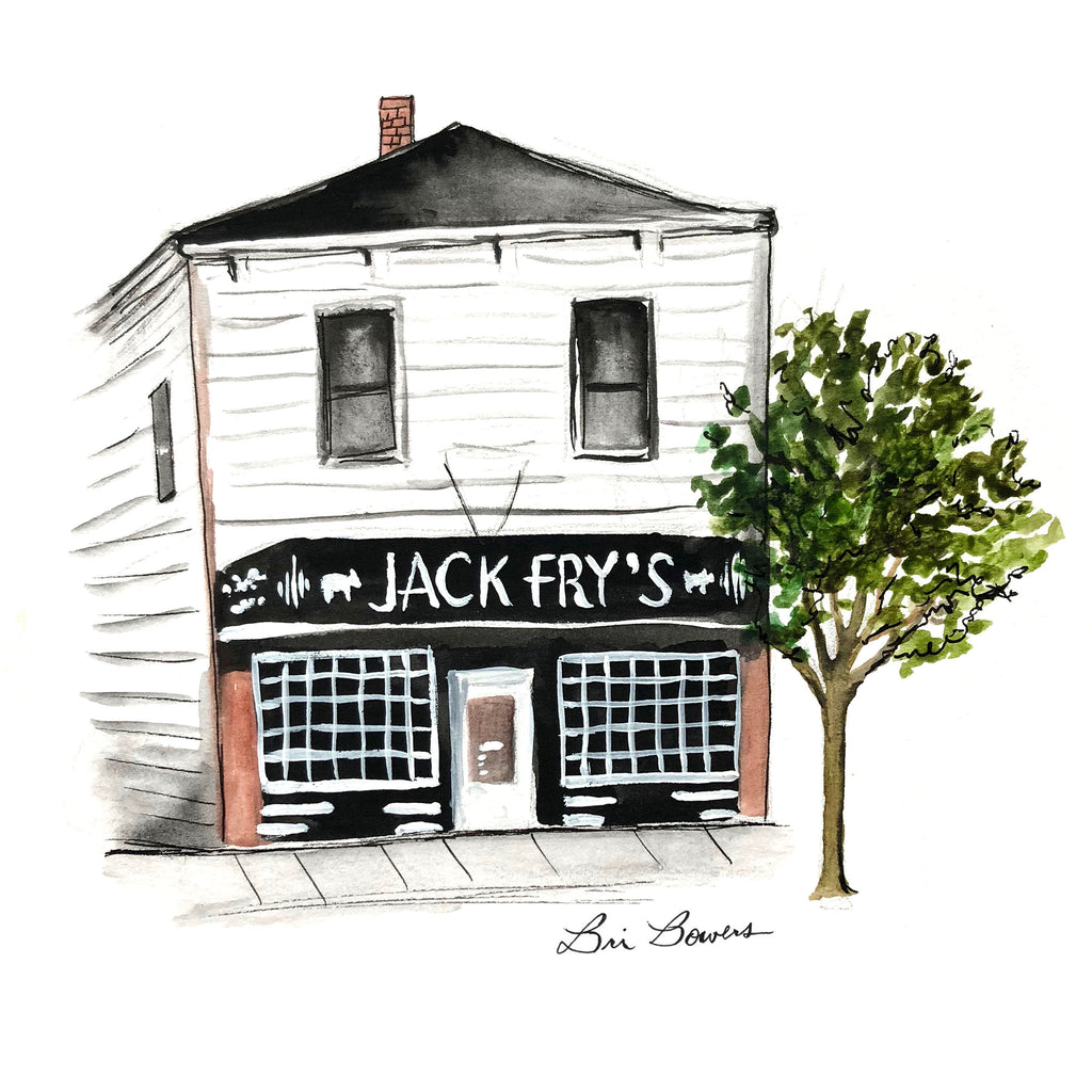 Jack Fry's Watercolor Print