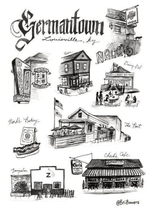Germantown Postcard