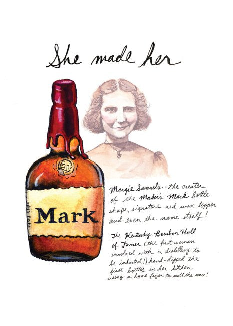 She Made Her Mark (Margie Samuels) Print
