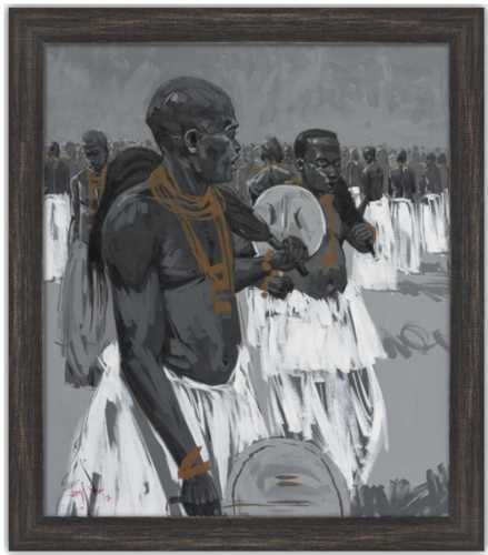 Authentic Nigerian Art - Nigerian Paintings - African Paintings - Sounds Of A Nation