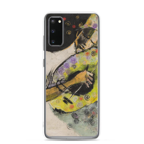 Authentic Nigerian Art - Nigerian Paintings - African Paintings - A Sound So Sweet Samsung Case