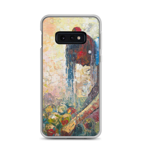 Authentic Nigerian Art - Nigerian Paintings - African Paintings - Backbones Hold Stories Samsung Case