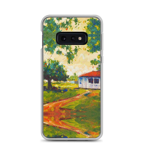 Authentic Nigerian Art - Nigerian Paintings - African Paintings - Blissful Innocence Samsung Case