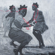 Authentic Nigerian Art - Nigerian Paintings - African Paintings - Freedom In Innocence