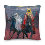 Authentic Nigerian Art - Nigerian Paintings - African Paintings - Gift Of Adventure Throw Pillow