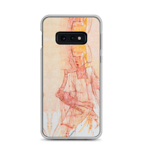 Authentic Nigerian Art - Nigerian Paintings - African Paintings - Mistress Of Beauty Samsung Case
