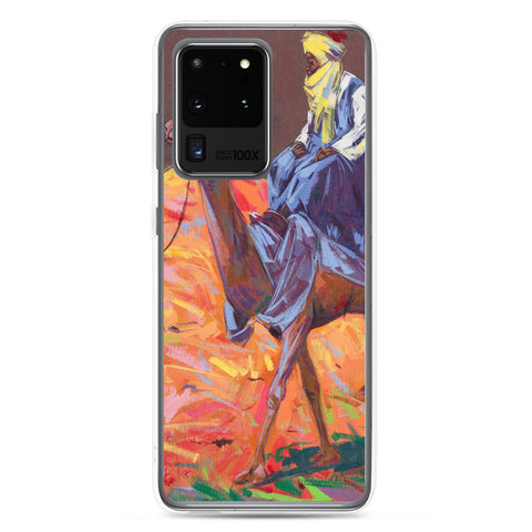 Authentic Nigerian Art - Nigerian Paintings - African Paintings - The Journey Samsung Case