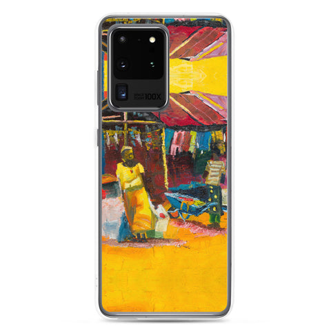 Authentic Nigerian Art - Nigerian Paintings - African Paintings - Warmth Samsung Case