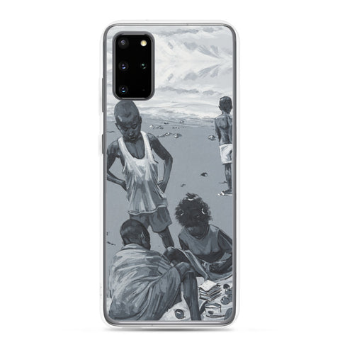 Authentic Nigerian Art - Nigerian Paintings - African Paintings - Summer Days Samsung Case