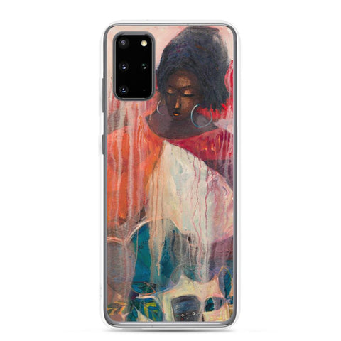 Authentic Nigerian Art - Nigerian Paintings - African Paintings - Mother Of Freedom Samsung Case