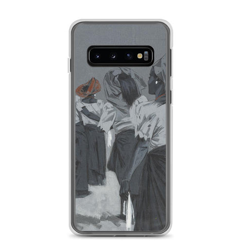 Authentic Nigerian Art - Nigerian Paintings - African Paintings - Queens Of Delight Samsung Case
