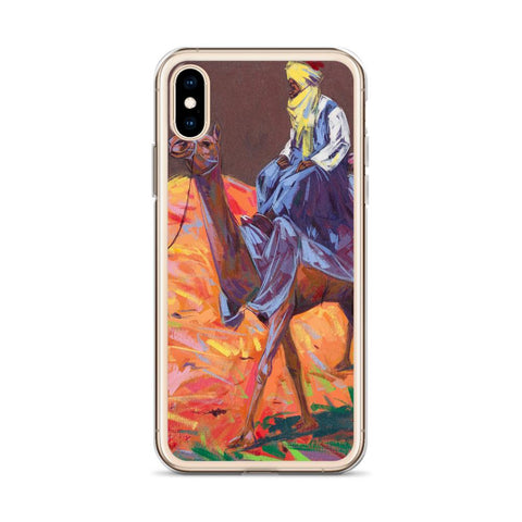 Authentic Nigerian Art - Nigerian Paintings - African Paintings - The Journey iPhone Case