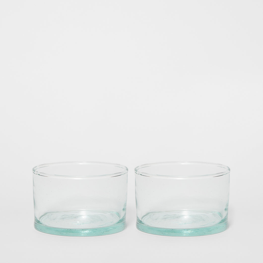Water Glass Cylinder 5 cm 2-P