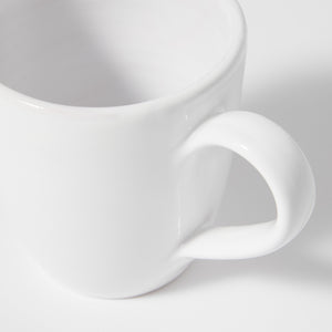 Coffee mug with ear