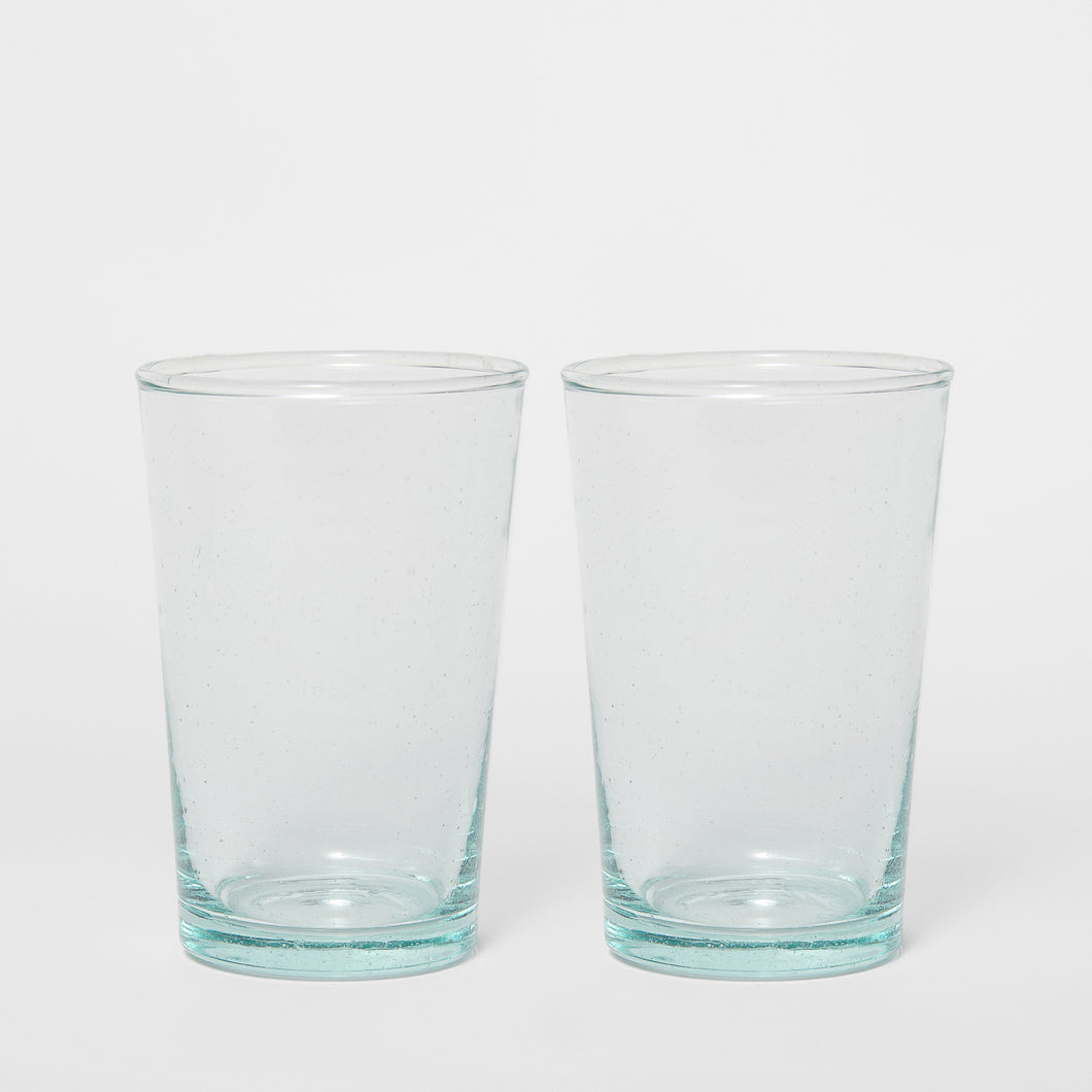 Water Glass 12 cm 2-P