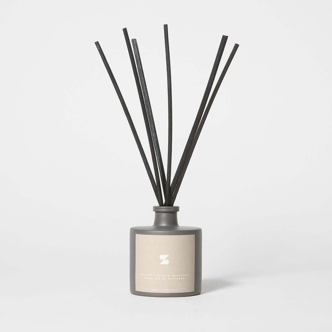 Room Diffuser Vetiver Leather Patchouli