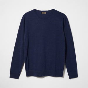 Womens Merino Crew Neck Sweater