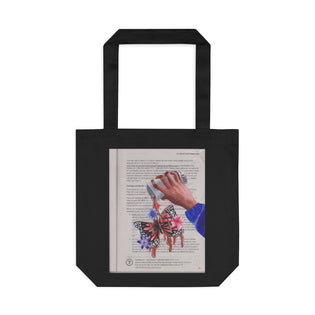 Art for the Homeless by MxA Canvas Bag: Cafe | Novelty Bag | Keepsake Bag | Bag for a Cause | Cotton Tote Bag