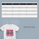 Custom or Personalised Family or Group Shirts | Add your own design
