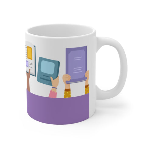 Bookish Mug: Simply Books | Ceramic Mug 11oz