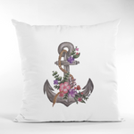 Art for the Homeless by MxA Canvas Pillow Case: The Harbour | Spun Polyester Square Pillow Case