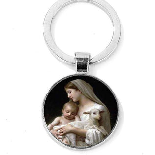Blessed Virgin Mary Keychain