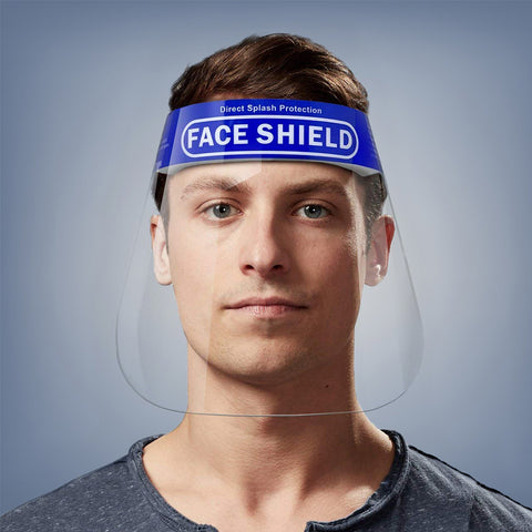Polycarbonate Face Shield (Pack of 4)