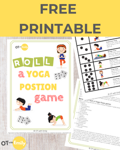 Roll a Yoga Pose Game