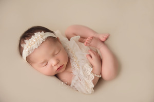 Kelly Newborn Lux Romper