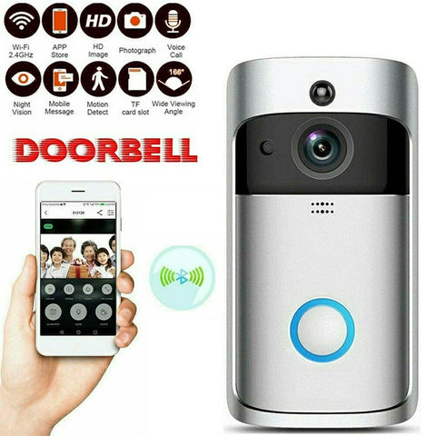 Smart WiFi Doorbell - webdeals4u.uk