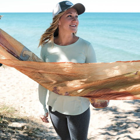 Women's Long Sleeve Active Shirt - The Green Mangrove