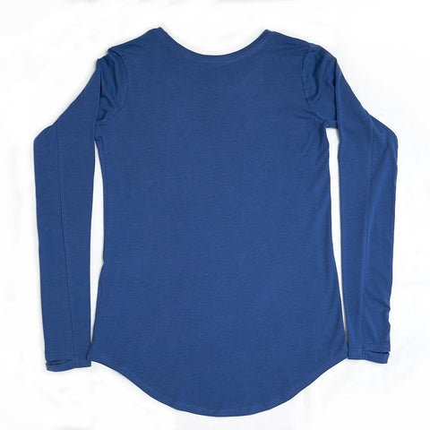 Women's Long Sleeve Active Shirt - The Blue Storm