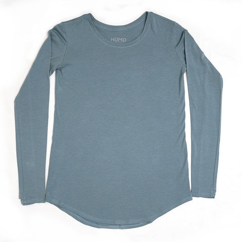 Women's Long Sleeve Active Shirt - The Slate Rock