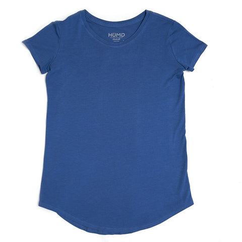 Women's Short Sleeve Active Shirt - The Blue Storm