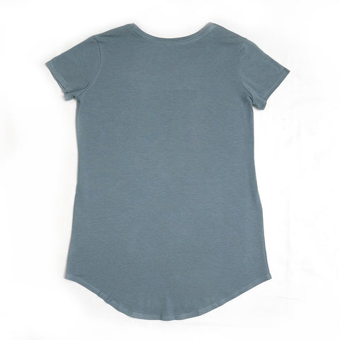 Women's Short Sleeve Active Shirt - The Slate Rock