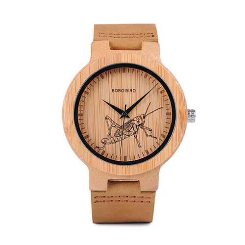 3D Fashion Lifelike Print Dial Face Watch